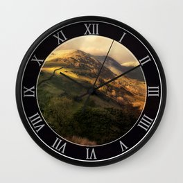 Postcards from Scotland Wall Clock