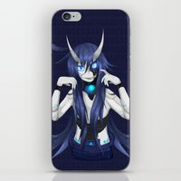 android iPhone & iPod Skins featuring Android by lazylogic