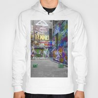 melbourne Hoodies featuring Melbourne Graffiti 2 by Another Alex