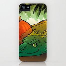 Baby Bestiary: Holiday Dragon Wyrm iPhone Case