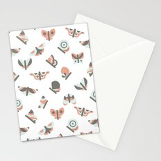 Butterflies pattern Stationery Cards