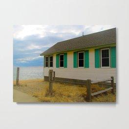 Provincetown Cabins 2 Metal Print
