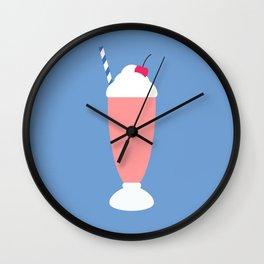 #18 Milkshake Wall Clock