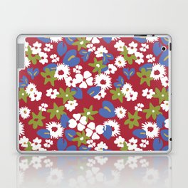 Modern bold liberty print Laptop & iPad Skin