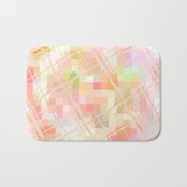 Re-Created Twisted SQ IV by Robert S. Lee Bath Mat