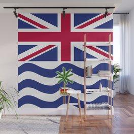 British Indian Ocean Territory flag emblem Wall Mural