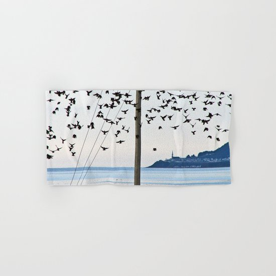 Birds in Flight Hand & Bath Towel