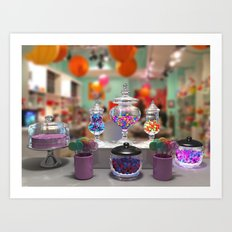 Candy Shop Still Life Art Print