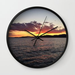 Ocean Calm III Wall Clock