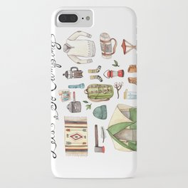 Let's Go Camping iPhone Case