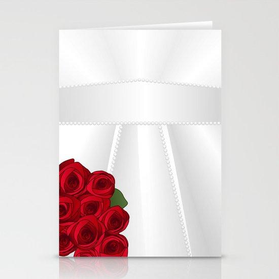 Bride&Groom/Bride's Dress Stationery Cards