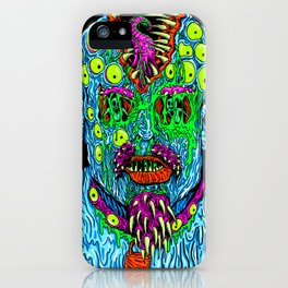 Punk Monster iPhone Case