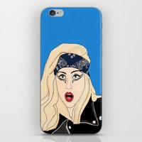 artpop iPhone & iPod Skins featuring ARTPOP by Lord Gloria