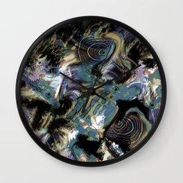 Abstraction , fish , sea Wall Clock
