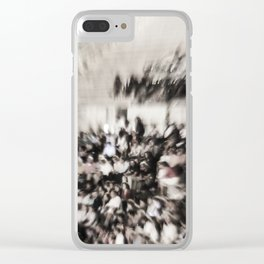 Crowd of people Clear iPhone Case