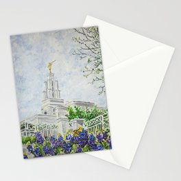 San Antonio Texas LDS Temple Stationery Cards