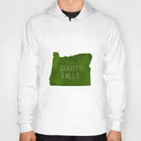 gravity falls Hoodies featuring Gravity Falls by pondlifeforme