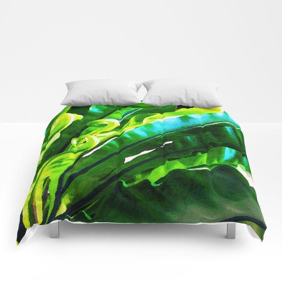 Shy Fern #society6 #decor #buyart Comforters