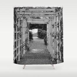 Empress Trellis Sketched  Shower Curtain