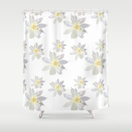 Lily Daffodil Shower Curtain