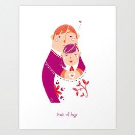 Scent of Hugs Art Print