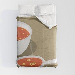 so[jo]pa de letras Comforters