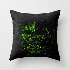 THE INCREDIBLE HULK Throw Pillow