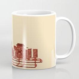 LAS Airport Map Coffee Mug