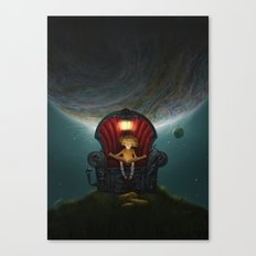 The Dreams Machine Canvas Print