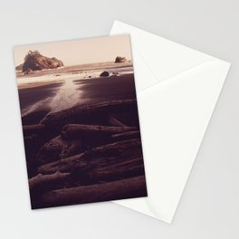 OLD LOGS WEATHER IN SANDY COVER NEAR TRINIDAD NARA 543054 Stationery Cards
