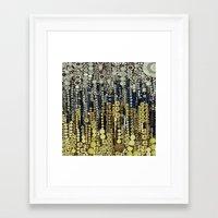 gatsby Framed Art Prints featuring :: Gray Gatsby :: by :: GaleStorm Artworks ::