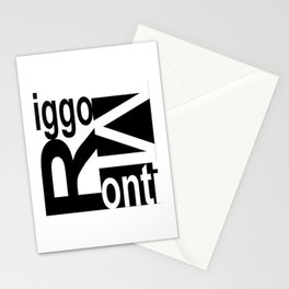 Riggo Monti  Design #8 - Riggo Monti Deco Tile Design Stationery Cards