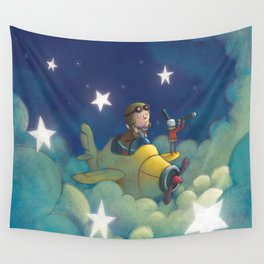 Dreams in the Stars Wall Tapestry