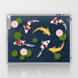 Japanese Koi Fish Pond Laptop & iPad Skin