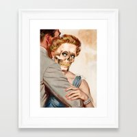 ginger Framed Art Prints featuring GINGER by Julia Lillard Art