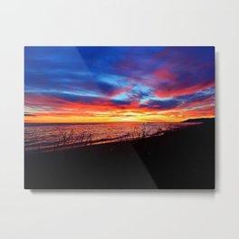 Sunrise on Sainte-Anne-Des-Monts Metal Print
