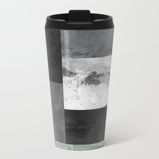 Light from the end of the tunnel Metal Travel Mug