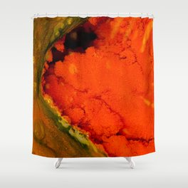 Thermal ecosystem Shower Curtain
