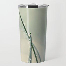 grass bokeh Travel Mug