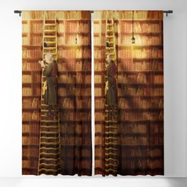 The Librarian Blackout Curtain