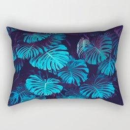 Night Turq Rectangular Pillow