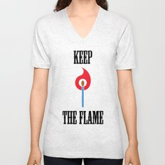 Keep the Flame Unisex V-Neck