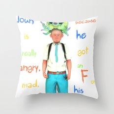 Angryocto - Joun's Math grade Throw Pillow