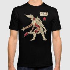 Kaiju Anatomy Mens Fitted Tee LARGE Black