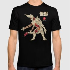 Kaiju Anatomy X-LARGE Black Mens Fitted Tee