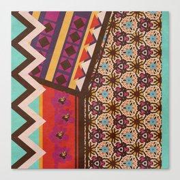 Zimbabwe Multi With Texture Canvas Print