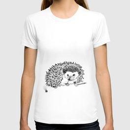 hedgehog pen T-shirt