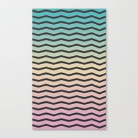 gradient Canvas Prints featuring Gradient. by Jake  Williams