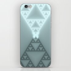Triangles Glow iPhone Skin