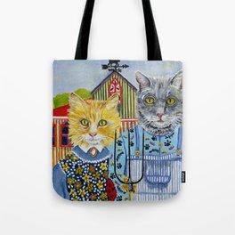 American Meowthic Tote Bag